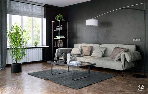 parete grigia soggiorno soggiorno grigio 25 idee di arredo dal design moderno
