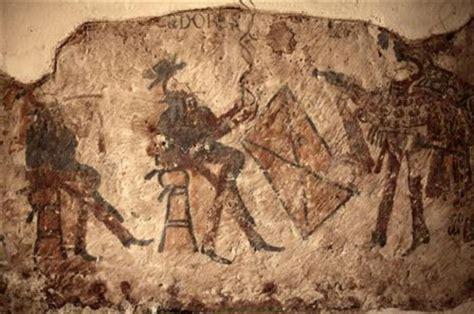 ancient mayan murals  hidden  guatemalan farmers