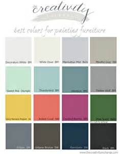 painting color schemes 16 of the best paint colors for painting furniture