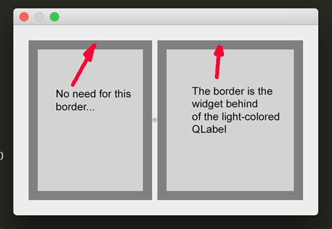 qt layout background color python how to control spacing inside of qsplitter