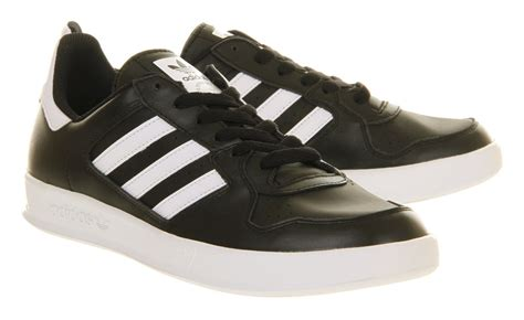 Adidas Tennis Black lyst adidas tennis court top black run white in black