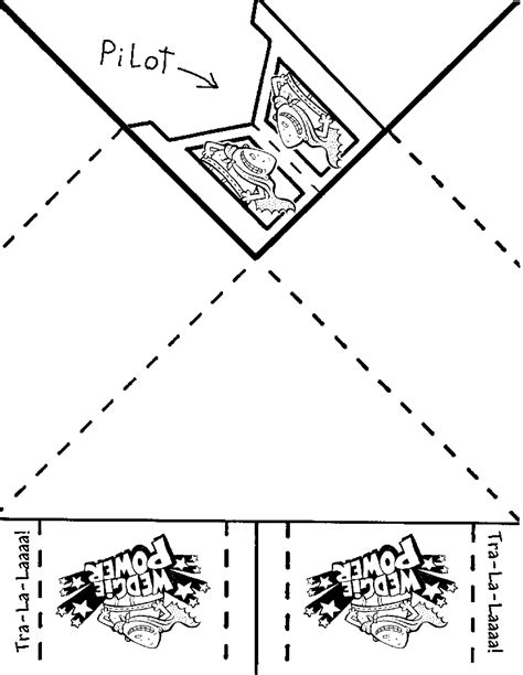 printable heroes instructions captain underpants printable paper airplane template