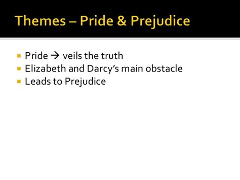 list of themes in pride and prejudice 6 themes motifs symbols pride prejudice