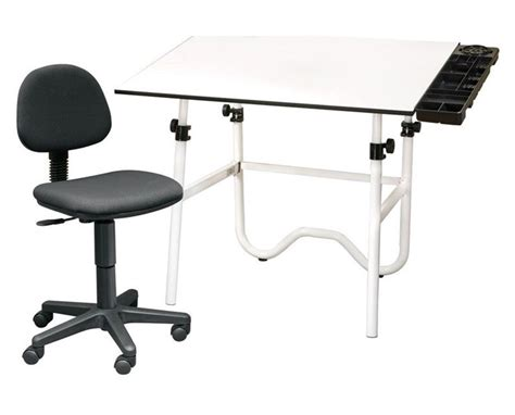 Alvin Onyx Drafting Table Alvin Cc Series Creative Center Onyx Drafting Table With Chair Tiger Supplies