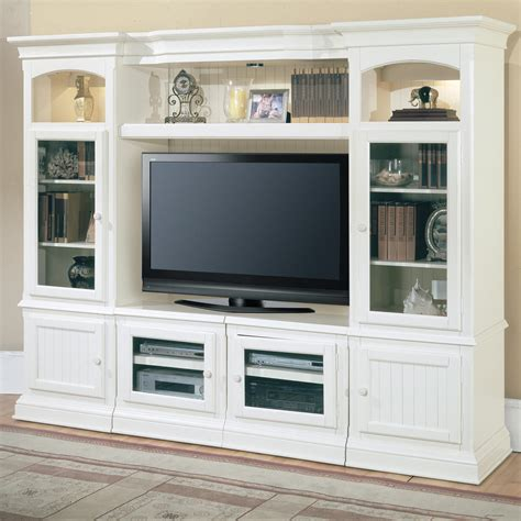 wall media unit parker house hartford 4 piece entertainment wall unit