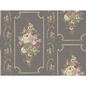 york wallcoverings casabella ii floral panel wallpaper ba4503 the home depot