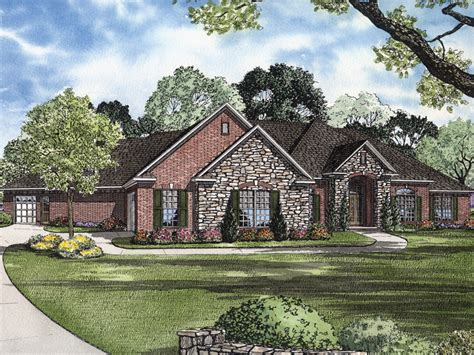 Exceptional 5 Bedroom Luxury House Plans #5: 055S-0065-front-main-8.jpg