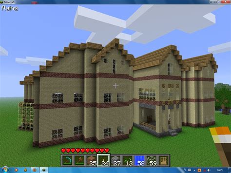 big minecraft house minecraft big homes pictures to pin on pinterest pinsdaddy