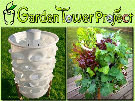 Garden Towers Garden Tower Composting 50 Plants Fresh Food Anywhere
