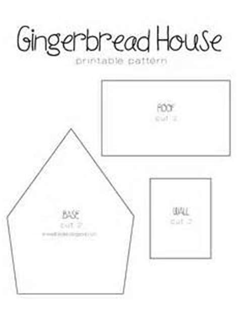 mini gingerbread house template 1000 images about gingerbread on gingerbread