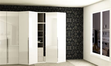Wardrobe Folding Doors by Folding Door Wardrobe Wardrobes Guntier