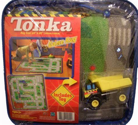 Tonka Rug by Floor Tonka Truck 40in Square Jumbo Rug W