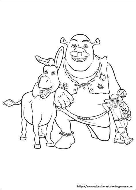 shrek coloring pages games shrek 3 coloring educational fun kids coloring pages and