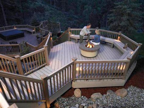 designer decks   natural wood composite