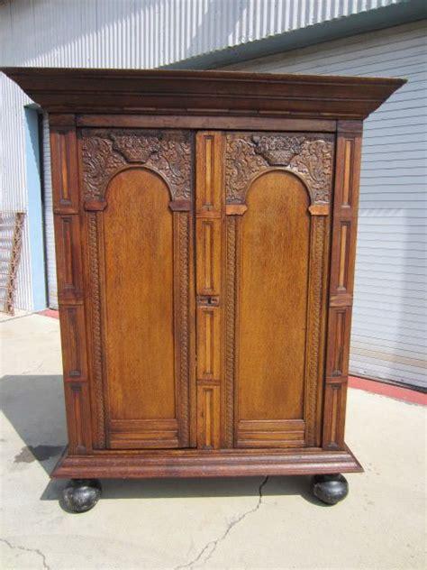 antique wardrobe armoire dutch antique armoire wardrobe linen press antique furniture cabinet