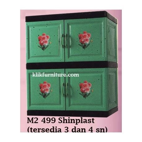 Lemari Plastik Termurah Lemari Container Plastik Shinplast 499 Agen Termurah