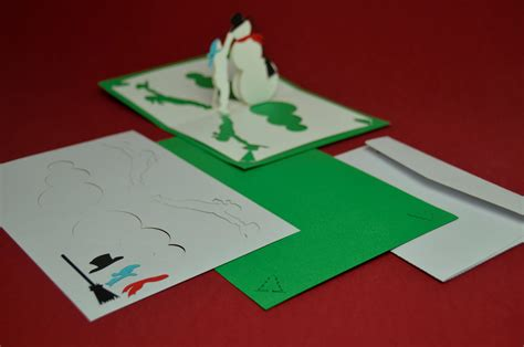 snowman creative pop up card template new pre cut pop up card kit creative pop up cards