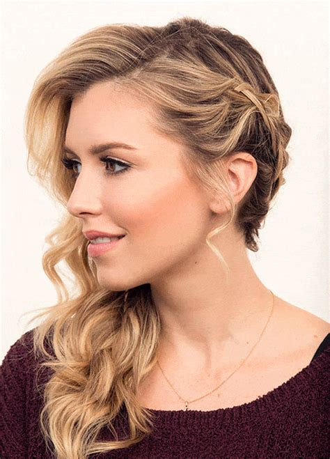 Side Prom Hairstyles by Prom Hairstyles To The Side Front And Back Www Pixshark