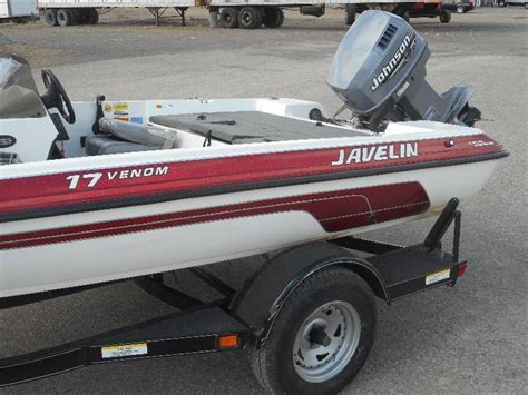 2000 javelin venom 17 fishing boat trailer le april - Javelin Boat Trailer Lights