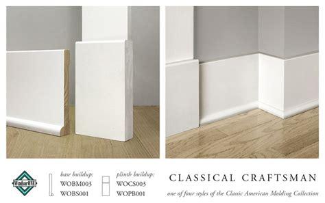 craftsman baseboard windsorone classical craftsman plinth block amp base molding