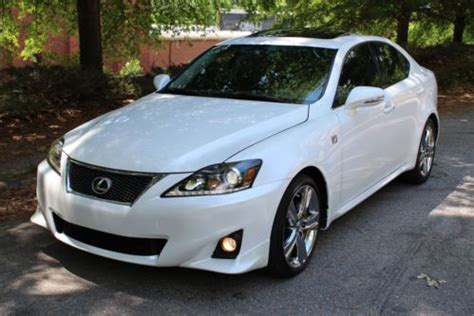 Buy Used 2012 Lexus Is250 Pearl White F Sport Navigation