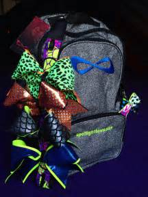 Infinity Cheer Bags Cheer Bow For Backpack By Spotlightcheerbows On Etsy
