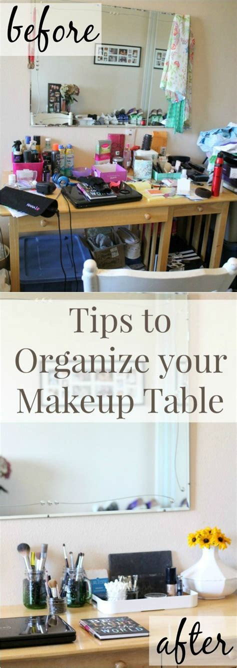 Makeup Vanity Table Jcpenney Organizing Your Makeup Table With Jcpenney Jars Work