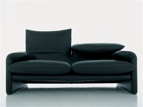 extremely comfortable couches buy the cassina 675 maralunga two seater sofa at nest co uk