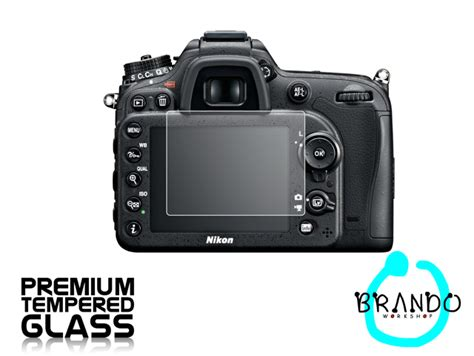 Lcd Protect Nikon D7100 brando workshop premium tempered glass protector for