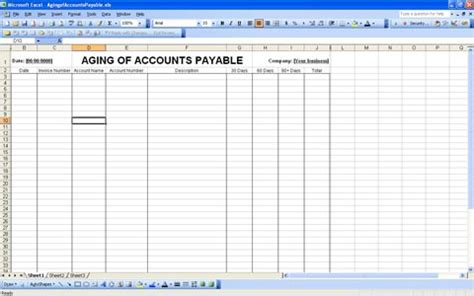 accounts payable ledger template accounts receivable template excel quotes