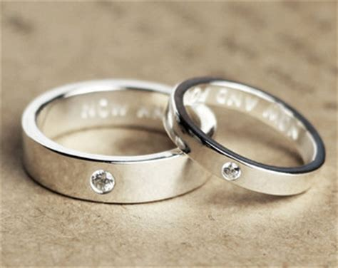 personalized couples rings promise rings for couples by