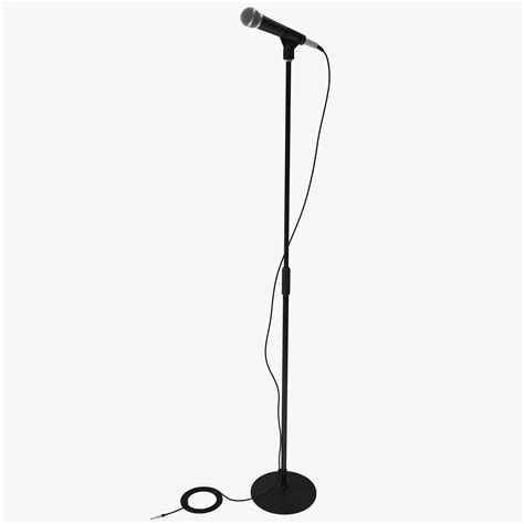 Tiang Mic Mik Microphone Stand Mic Mik Microphone 2 obj microphone stand