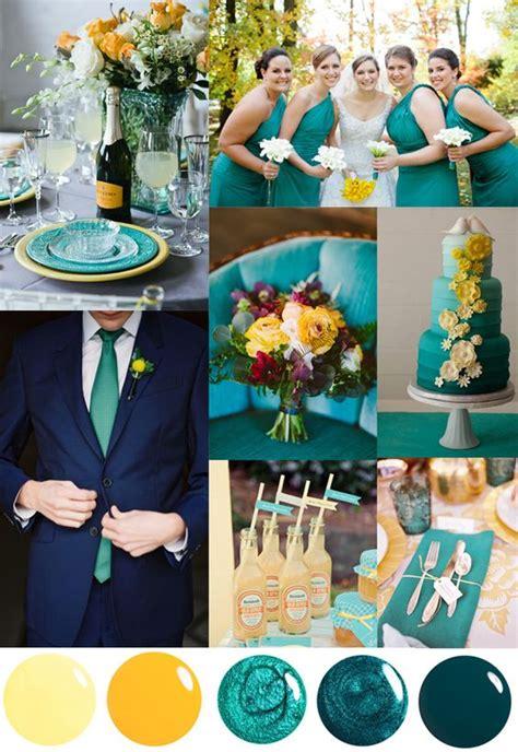 wedding color palette inspiration for 2018 trends we