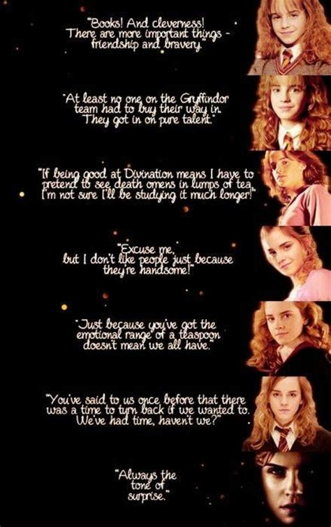 Emma Watson Quotes Harry Potter | hermione granger quotes or worse expelled pinterest