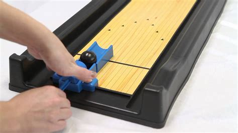 ideal rack  roll miniature bowling game youtube