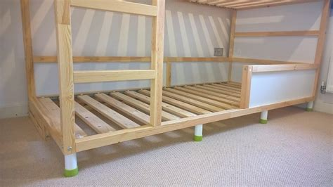 ikea raised bed hack kura trofast stuva bed hack