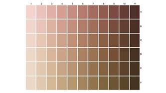 skin color chart expert in skin and hair types around the world l or 233 al