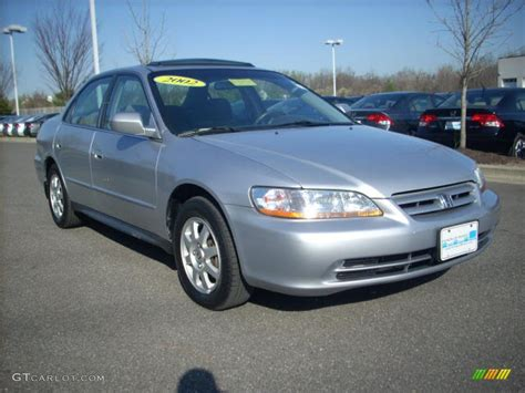 Honda Accord Se by 2002 Satin Silver Metallic Honda Accord Se Sedan 7149881