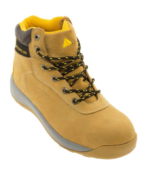Azcost Delta Safety Boots Sleting delta plus nubuck leather safety boot delf co