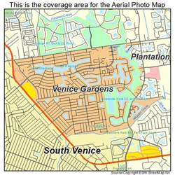 aerial photography map of venice gardens fl florida
