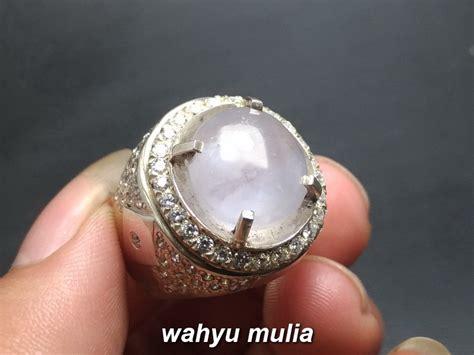 batu permata silky sapphire ceylon asli kode 829