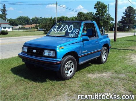 chevy tracker 1990 1990 geo tracker angier nc used cars for sale