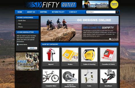 Bike Shops It S Easy To Get A Custom Ebay Store Design Ebay Shop Design Templates