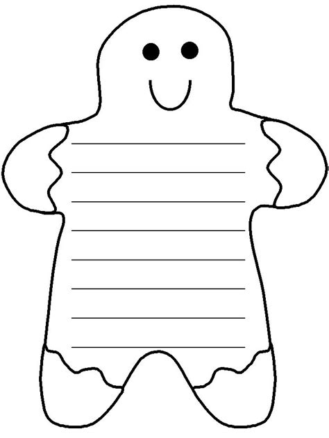 gingerbread writing paper search results for gingerbread writing paper
