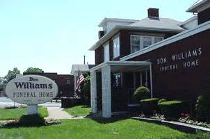 williams funeral home canton canton oh legacy