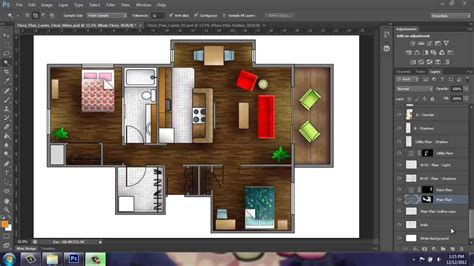 adobe illustrator floor plan template adobe photoshop cs6 rendering a floor plan part 1