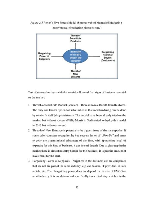 Mba Project On Fdi In Retail by Business Development Project For A Retail
