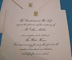 sending a wedding invitation to the white house graphics and calligraphy office