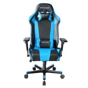 Dxracer k series pc office gaming chair black amp blue oh ke06 nb