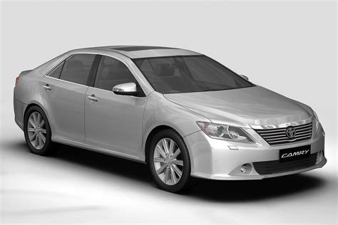 Toyota Camry Models by 2012 Toyota Camry Asian 3d Model Buy 2012 Toyota Camry